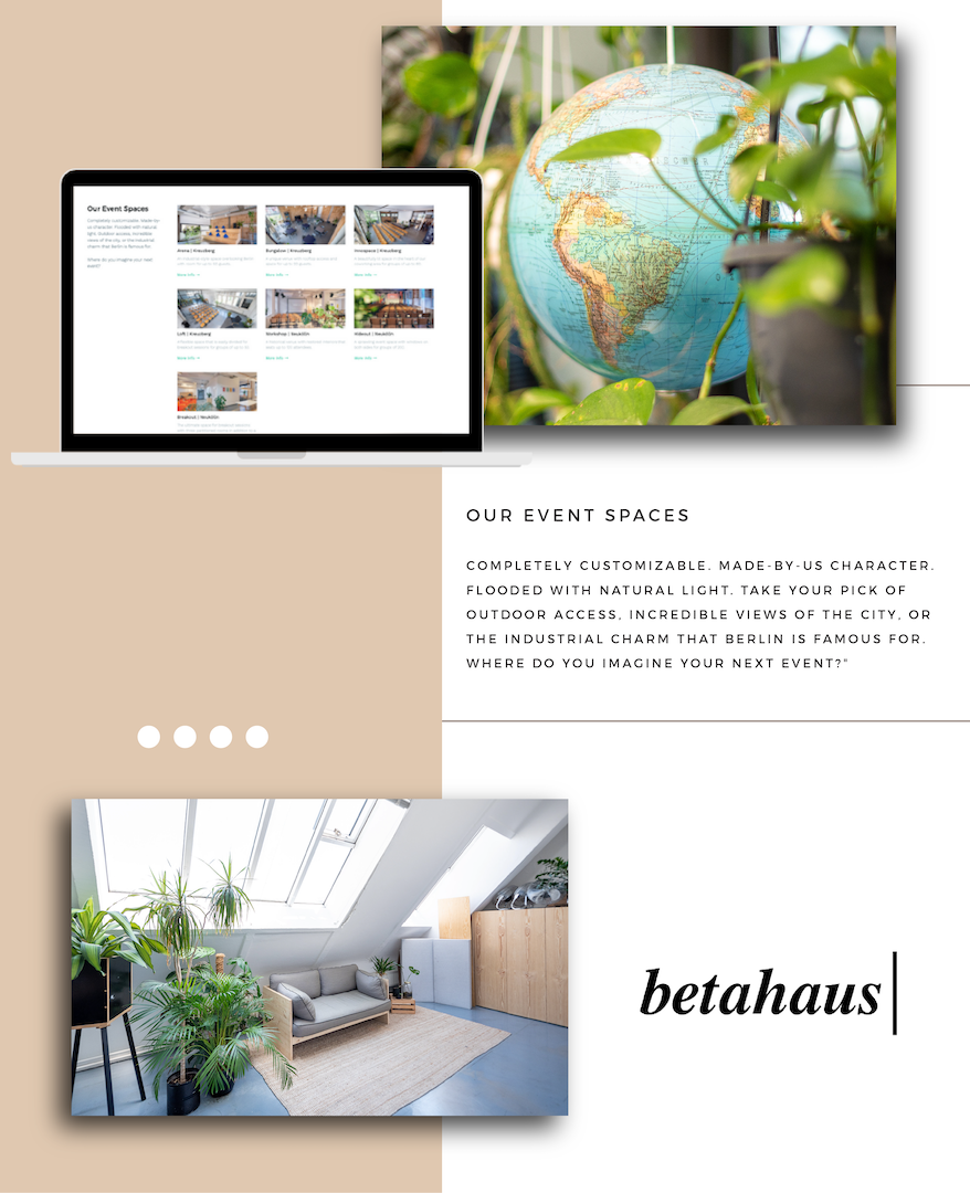 betahaus Events - Event Space Overview