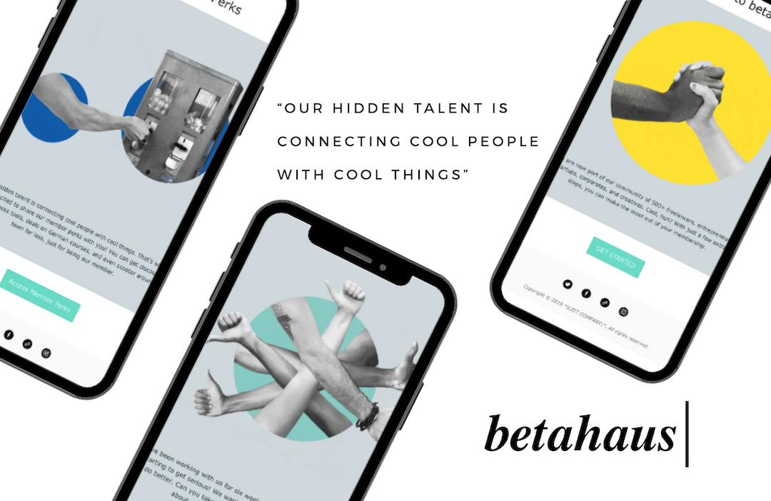 betahaus - Onboarding Emails - Phone Screens with Emails