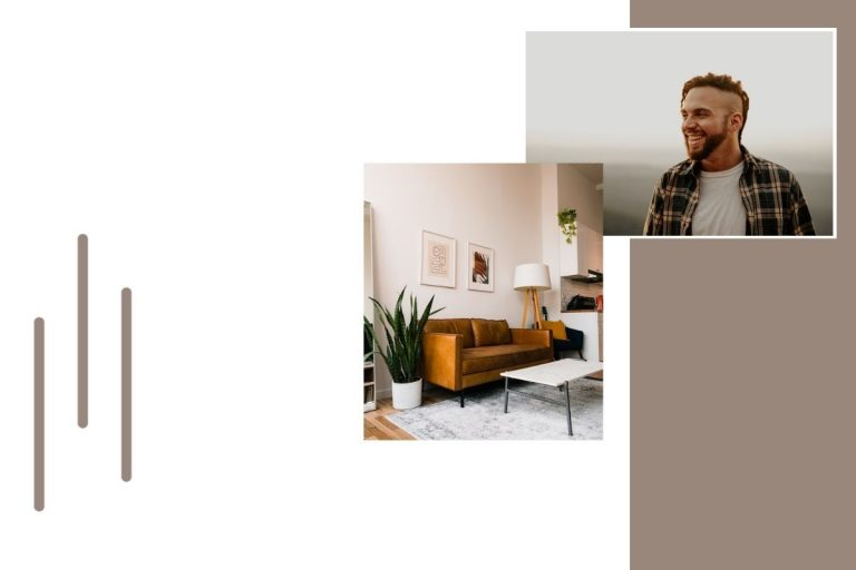 Websites for Therapists - Cozy Office and Man Smiling